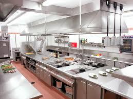 interior commercial kitchen lighting custom. The Most Attractive Restaurant Kitchen Design Wonderful Modern Inside Restaurants Plan Interior Commercial Lighting Custom G