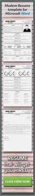Free Download Microsoft Fice 2007 Resume Templates Free Download