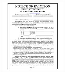 30 day eviction notice forms eviction notice template 29 free word pdf document free