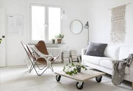 california casual meets scandinavian chic california causal small living room