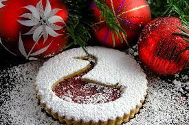 Delicious Christmas Cake Wallpaper Free ...