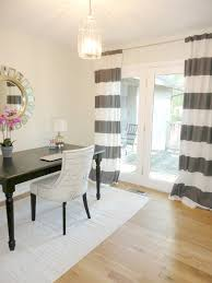 Two Story Living Room Curtains Livelovediy Diy No Sew Two Toned Curtains