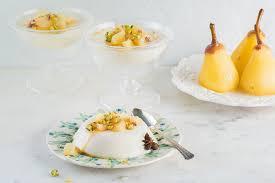 recipe inspiration for oikos plain panna cotta with yogurt