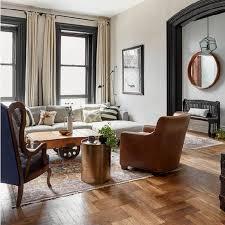 classic neutral color living room