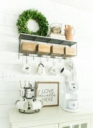Decorating: Bright Color Coffee Station House - Coffee Station
