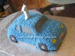 Homemade Car Birthday Cake Design For My Sons First Birthday I
