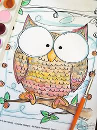 Small Picture Owl Coloring Pages 100 Directions