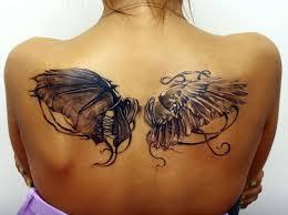 женские тату на спине татуировки 54 фото