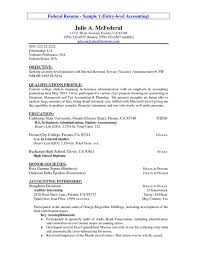 Accounting Student Resume Objective Internship Resume Objective