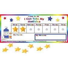 Amazon Com I Can Do It Medicine Chart Toys Games