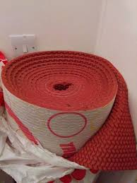 carpet underlay roll. 1 roll tredaire colours red luxury carpet underlay 11 square meters brand new