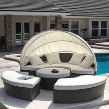 Small Round Rattan Table Rattan Garden Furniture The Garden And Patio Home Guide
