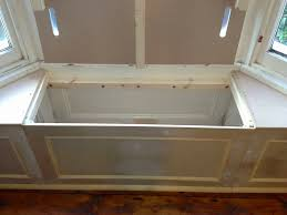Great Under Window Seating Storage Ideas