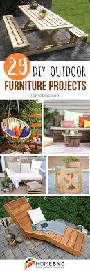 Diy Outdoor Furniture The 25 Best Diy Outdoor Furniture Ideas On Pinterest Outdoor