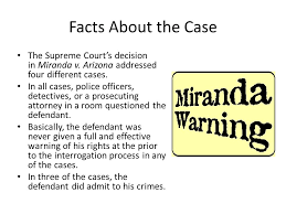 vivek barbhaiya and john coriasco ppt video online facts about the case the supreme court s decision in m da v arizona addressed four different