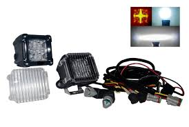 twin 4d 3 20w black drl white led spot beam and amber drl wiring twin 4d 3 20w black drl white led spot beam and amber drl wiring harness