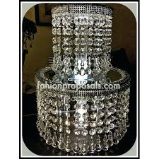 chandeliers crystal chandelier cupcake stand crystal acrylic cake stand wedding double tier crystal cake stand