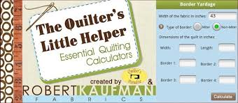 Quilting Calculators App &  Adamdwight.com
