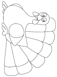 Turkey Printable Coloring Pages Turkey Outline Coloring Page