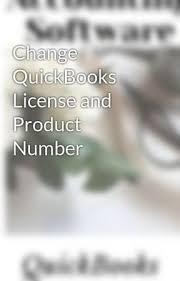 change quickbooks license and