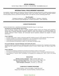 Special Purchasing Manager Resume First Rate Purchasing Manager