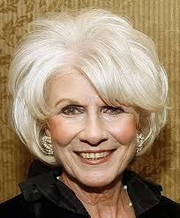 short hairstyle over 70