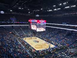 Smoothie King Center Basketball Seating Chart Smoothie King Center Section 311 Row 4 Seat 10 New