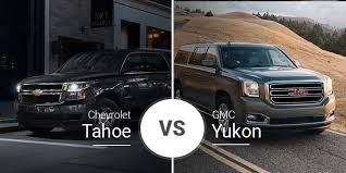 2019 Gmc Yukon Color Chart Chevy Tahoe Vs Gmc Yukon Big Suvs Siblings Battle It Out