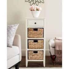 tall narrow dresser. Image Is Loading Tall-Narrow-Dresser -Wicker-Cabinet-Storage-Baskets-Organizer- Tall Narrow Dresser I