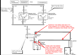 1990 f250 starter solenoid wiring diagram residential electrical Ford Tractor Solenoid Wiring Diagram starter relay switch wiring diagram diy wiring diagrams u2022 rh dancesalsa co 1990 ford f150 starter relay wiring diagram 1990 ford f150 starter relay