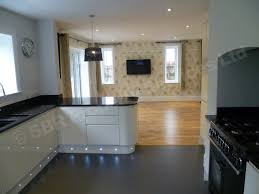 Plinth Lighting For Kitchens Kitchen Design And Install South Devon S B R Kitchen Services