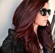 Burgundy Brown Hair Color Best At