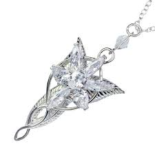 the lord of the lotr arwen evenstar pendant necklace lotr fashion princess necklace fan gift high quality