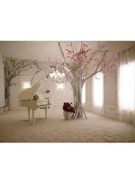 3D Classic Home Wallpaper White ...