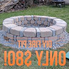round brick fire pit inspirational diy fire pit cinder blocks luxury 17 diy fire pit ideas for your