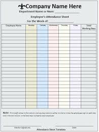 Meeting Attendance List Template Roster Blank Superscripts
