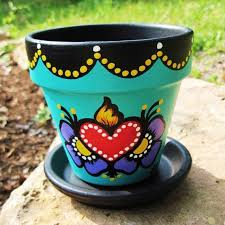 Pot Decoration Designs 100 ideas about Painted Flower Pots on Pinterest Clay Pots 43