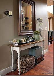 hall entryway furniture. front entry way ideamirror and narrow table wall color hall entryway furniture a