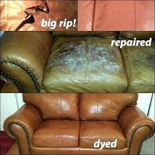 refurbish leather couch how