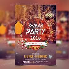 x mas party 2016 psd bie flyer stockpsd net present