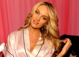 candice swanepoel victorias secret hairstyle