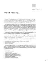What Is Project Design Document Section 3 Project Planning Guidance For Planning Design