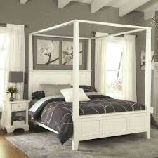 Wood Canopy Bed Solid Wood Twin Canopy Bed – getquick.co
