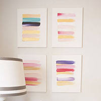 beautiful simple diy art idea that anyone can make plus lots more brilliant on easy cheap wall art ideas with fancy walls on the cheap 36 easy beautiful diy art ideas view