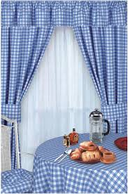 blue colour check kitchen curtains gingham value curtains yellow