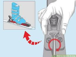 3 Ways To Adjust Ski Bindings Wikihow
