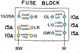 tech wiki fuse box datsun 1200 club wiring