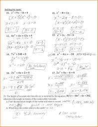 factoring quadratic equations review worksheet tessshlo brilliant ideas of solving quadratic equations by factoring worksheet glencoe
