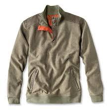 Orvis Mens Size Chart Quarter Zip Guide Sweatshirt Orvis