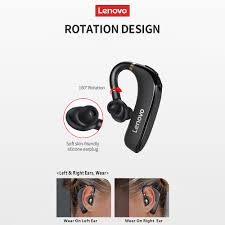 <b>Lenovo HX106 Wireless Headphone</b> Ear Hook Business Single Ear ...